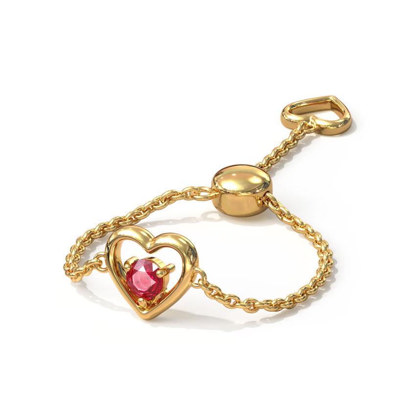 Heart Full of Love Flexi Ring