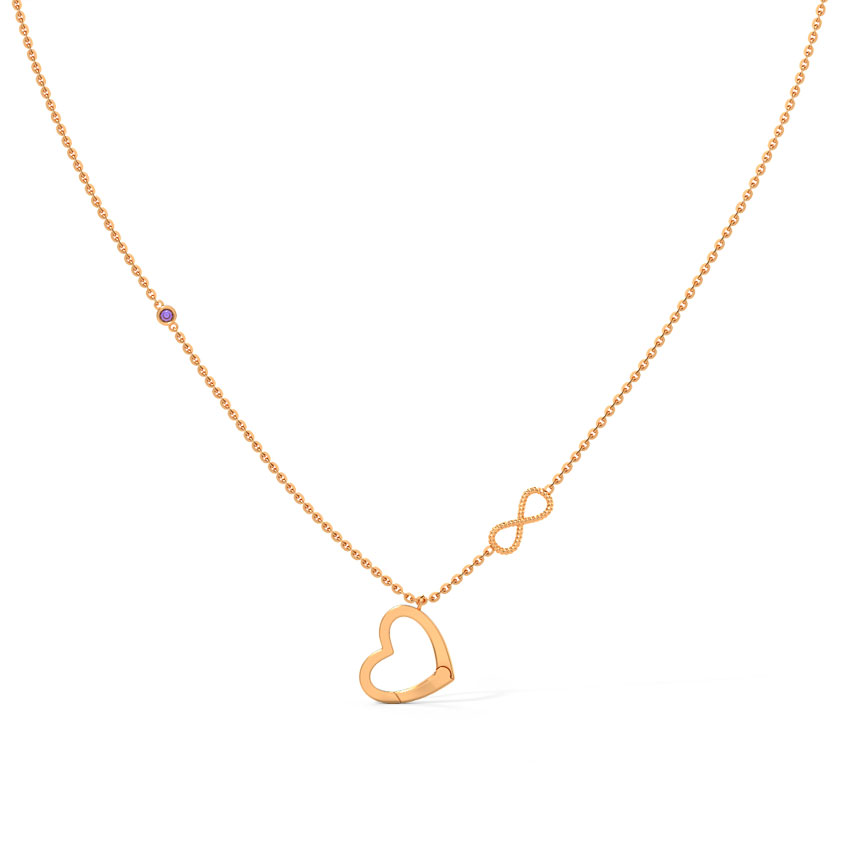 Amore Charm Holder Necklace