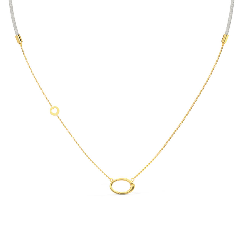 Gleam Charm Holder Necklace