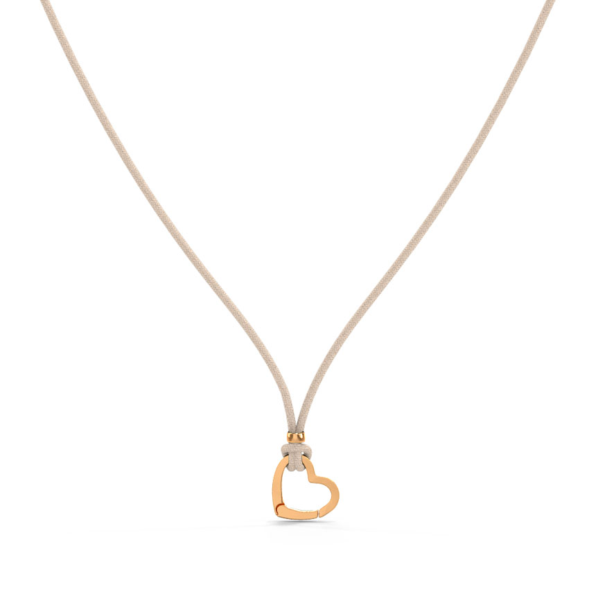 Te Amo Charm Holder Necklace