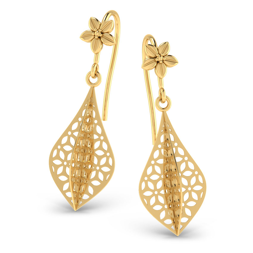Gold Earrings Buy Gold Earrings Designs line at Best Price in