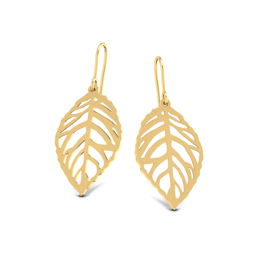 Leaf Cut-out Earrings