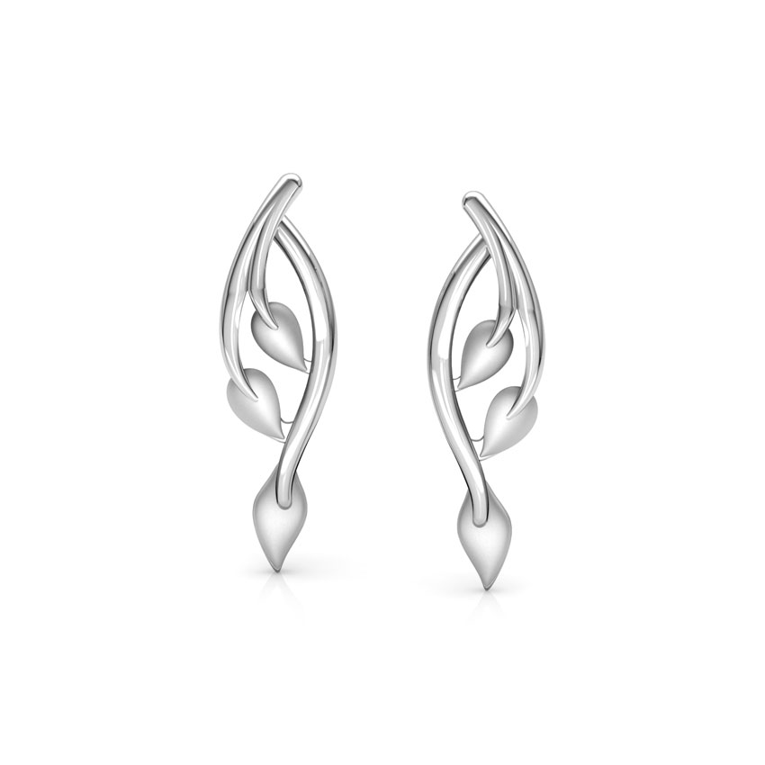 Vow Platinum Stud Earrings