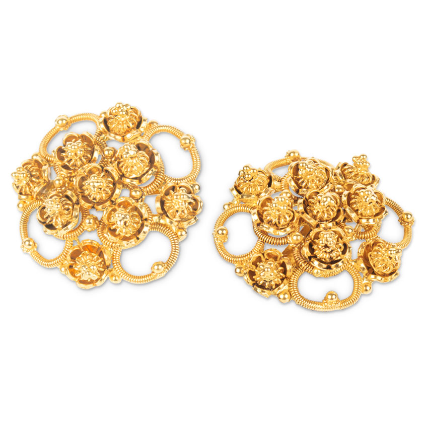 Chail Coiled Stud Earrings