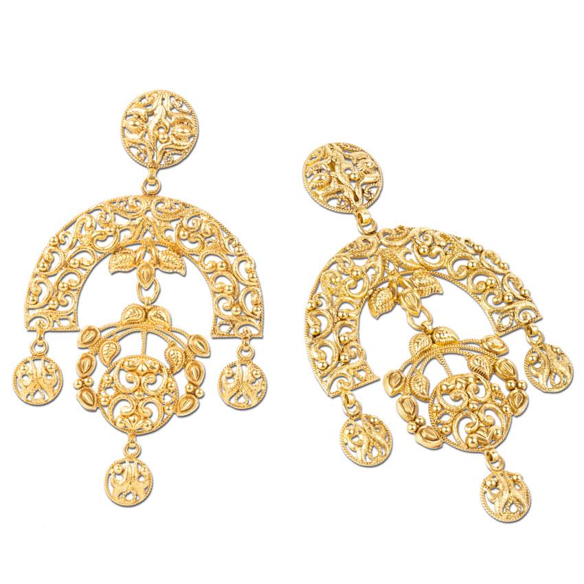 Diti Deco Drop Earrings