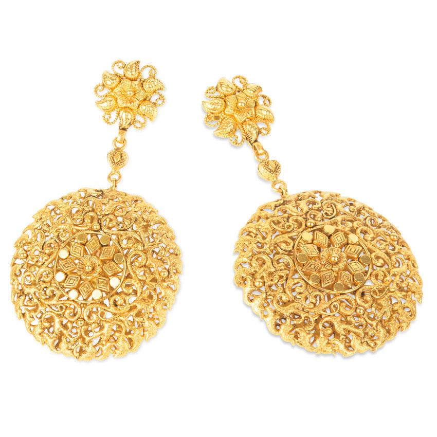 Alka Ornate Drop Earrings