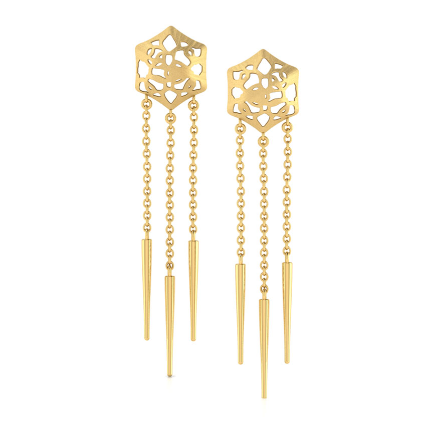Abbey Cutout Drop Earrings