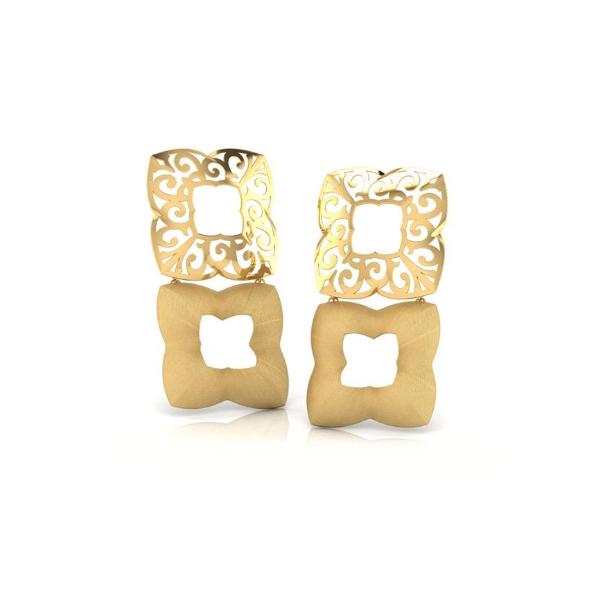 Tallis Cutout Drop Earrings