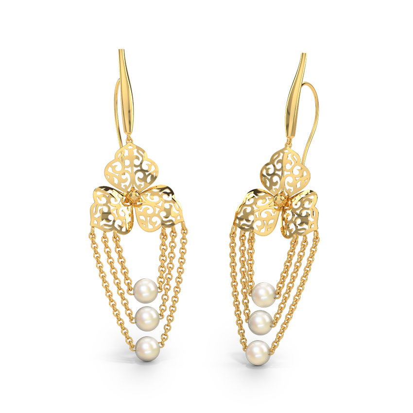 Kennice Cutout Drop Earrings