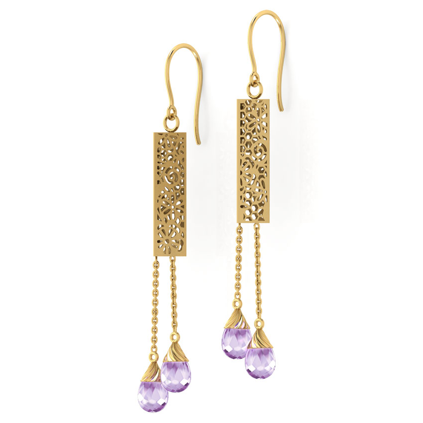 Khloe Cutout Drop Earrings