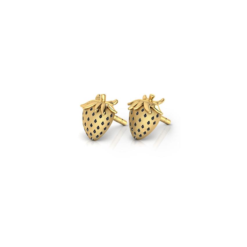 Strawberry Shortcake Stud Earrings