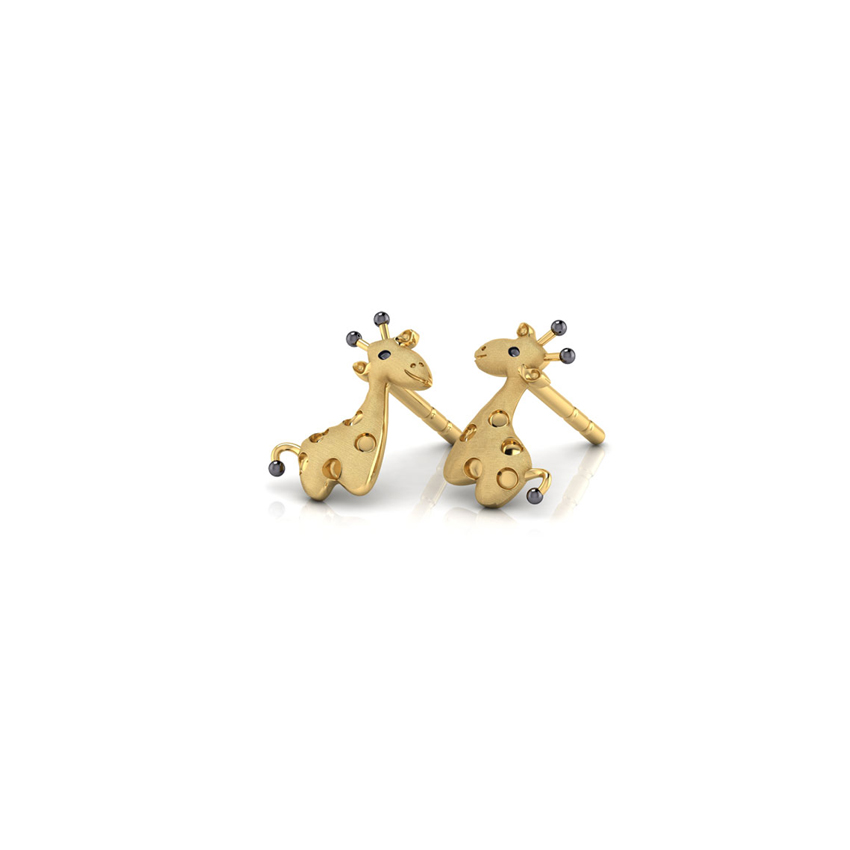Cute Giraffe Kids' Earrings