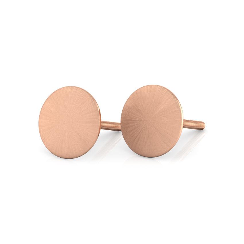 Beth Stamped Stud Earrings