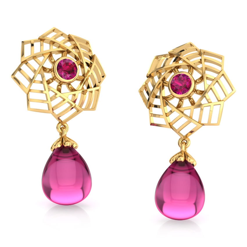 Amer Fountain Drop Earrings
