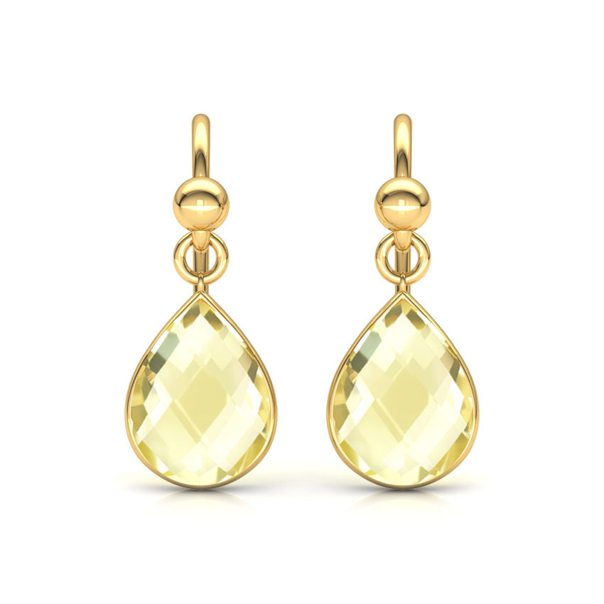 Classic Onyx Drop Earrings