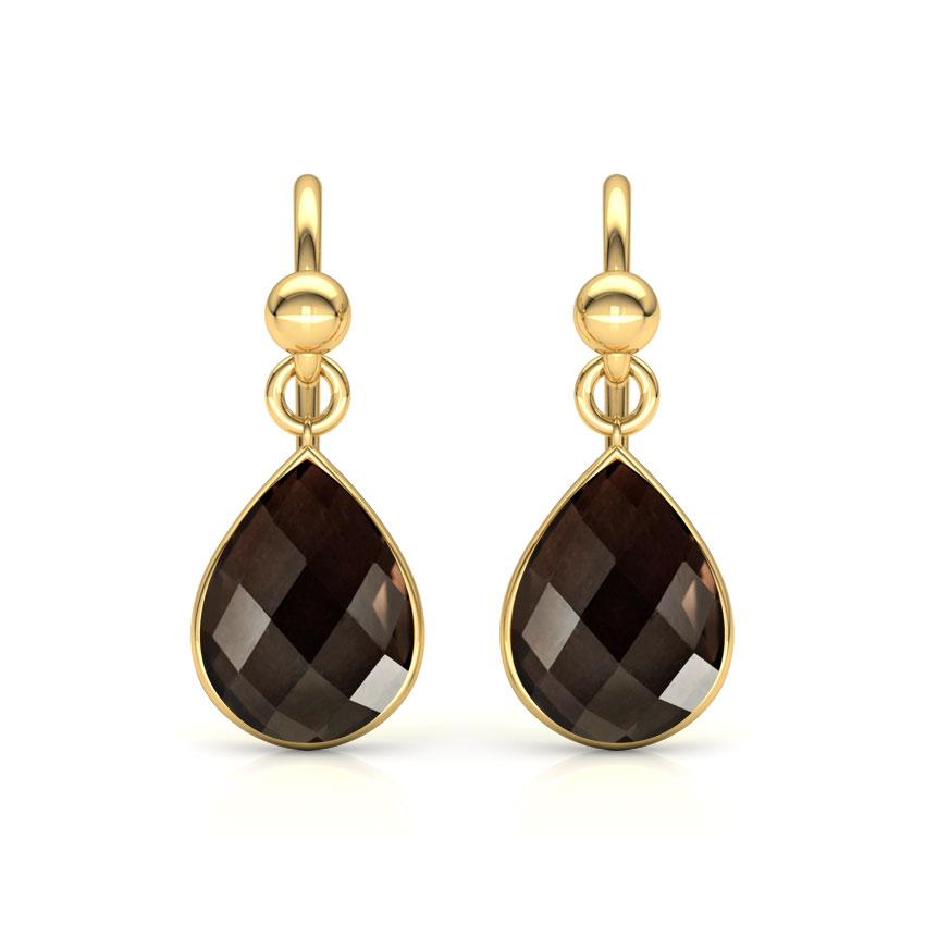 Classic Onyx Drop Earrings