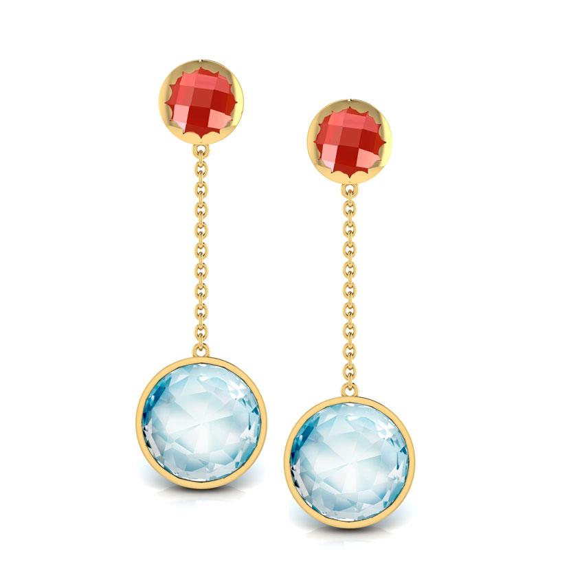 Grace Orb Drop Earrings