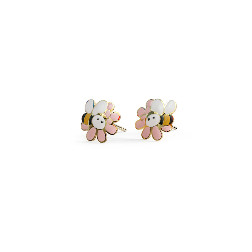 Busy Bee Kids' Earrings