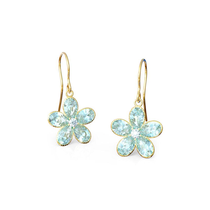 Blue Crush Kids' Earrings