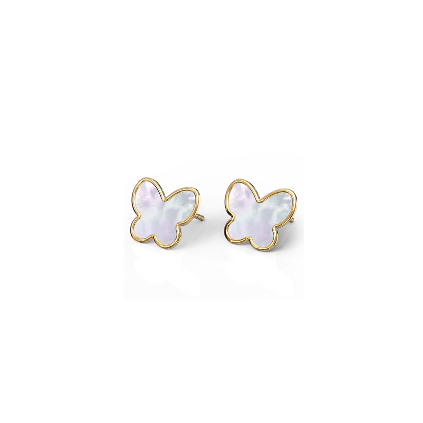 Flutter Mother of Pearl Kids' Earrings