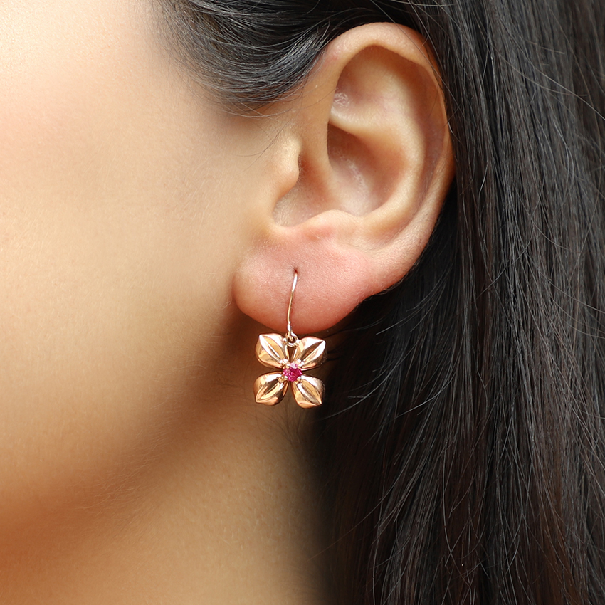 Dhriti Floret Drop Earrings