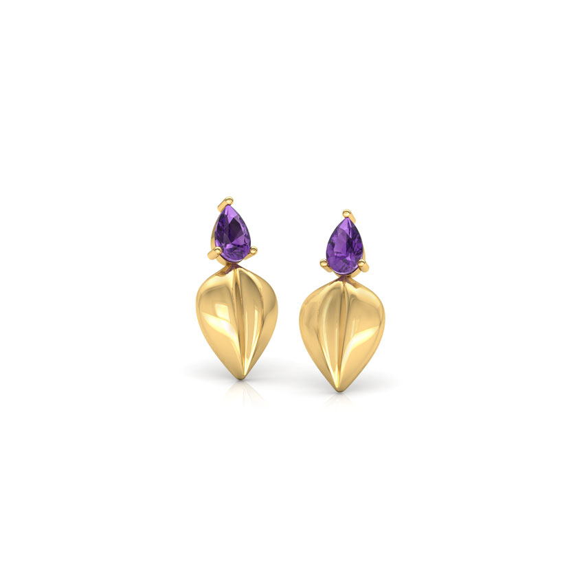 Kashvi Leaf Drop Earrings