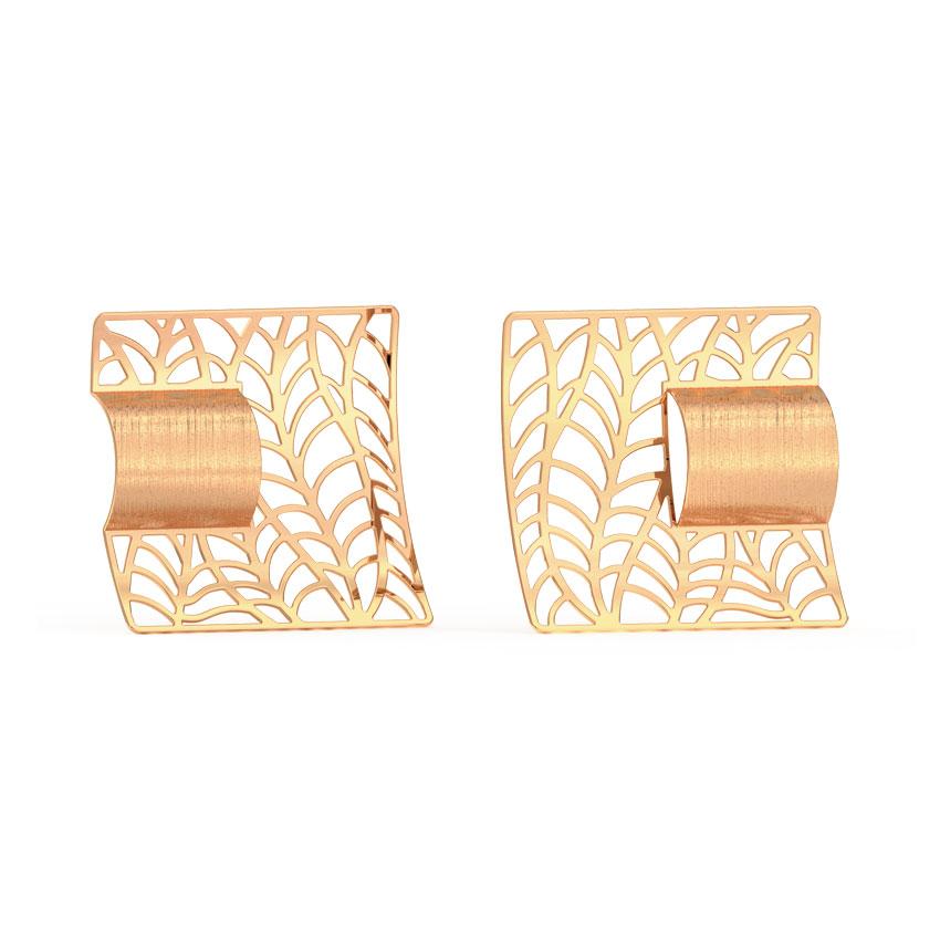 Intricate Quad Stud Earrings