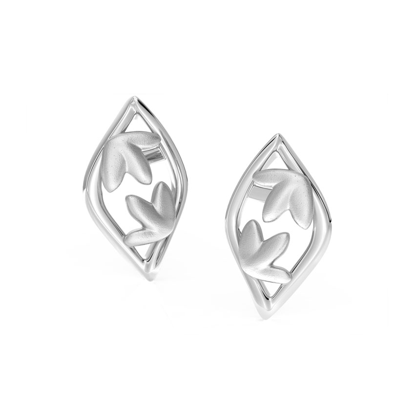 Marquise Petals Stud Earrings