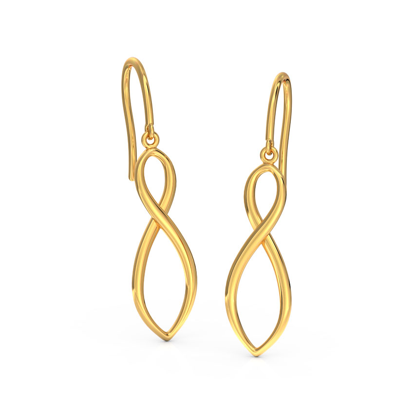 Infinity Drop Earrings
