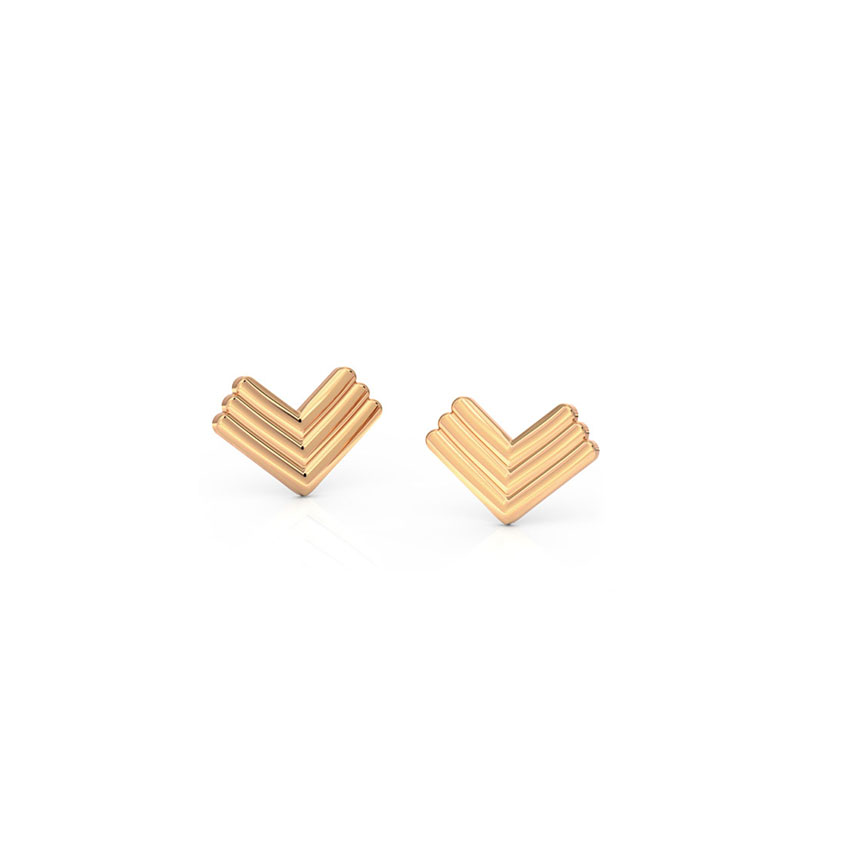 Edgy Stud Earrings