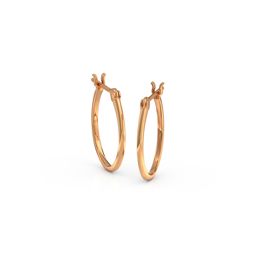 Sleek Hoop Earrings
