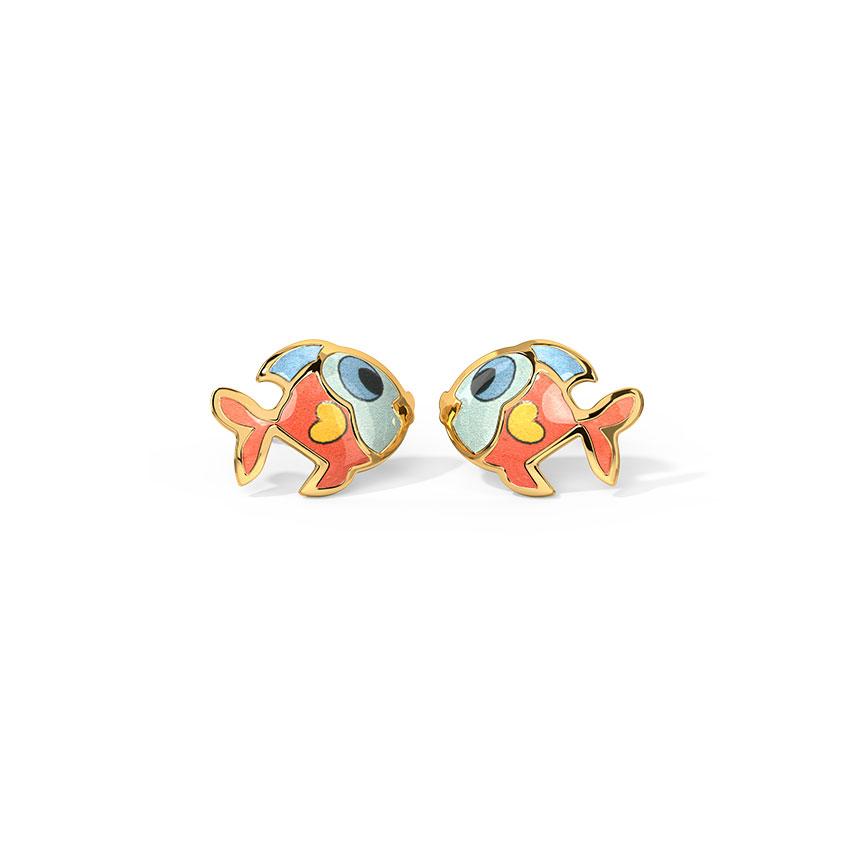Fishy Kids' Earrings
