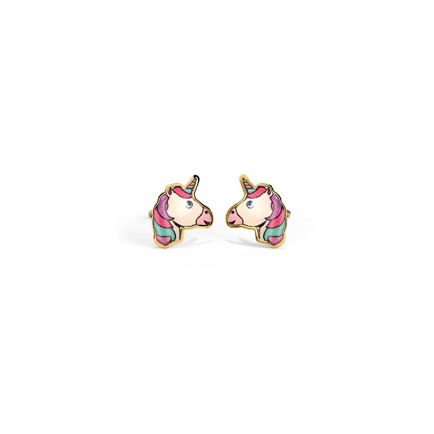 Enchanted Unicorn Stud Earrings