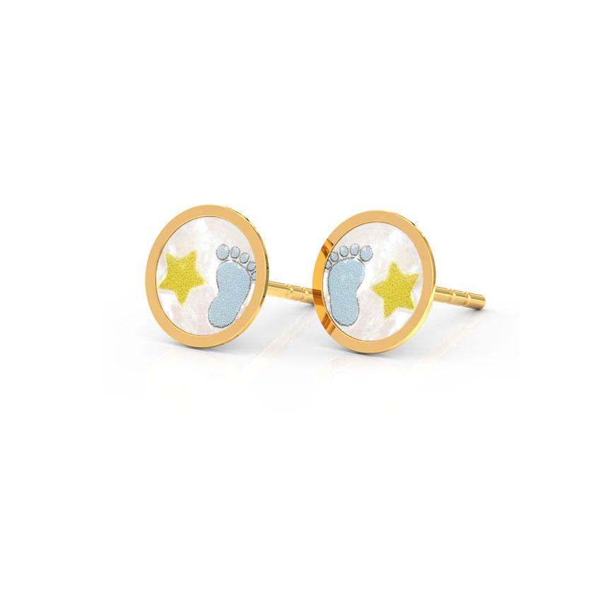 Baby Steps Stud Earrings