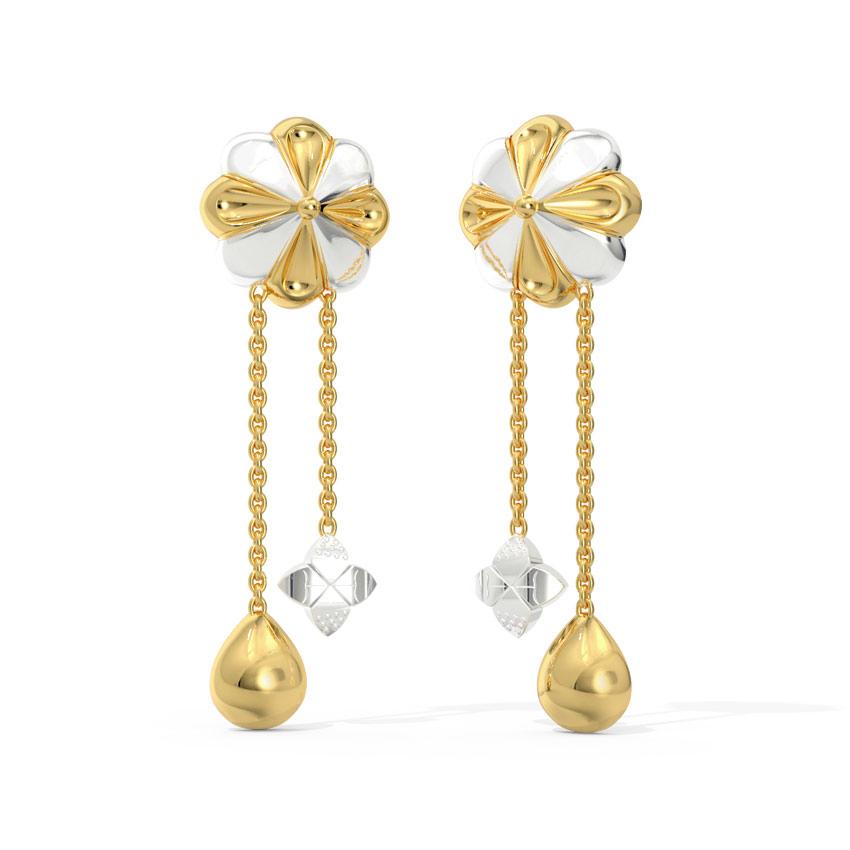 Sway Floret Drop Earrings