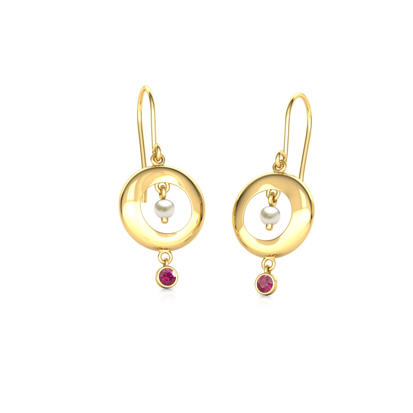 Elsa Encircle Drop Earrings