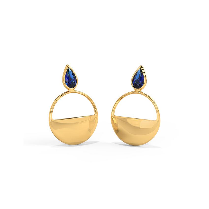 Keya Circlet Drop Earrings