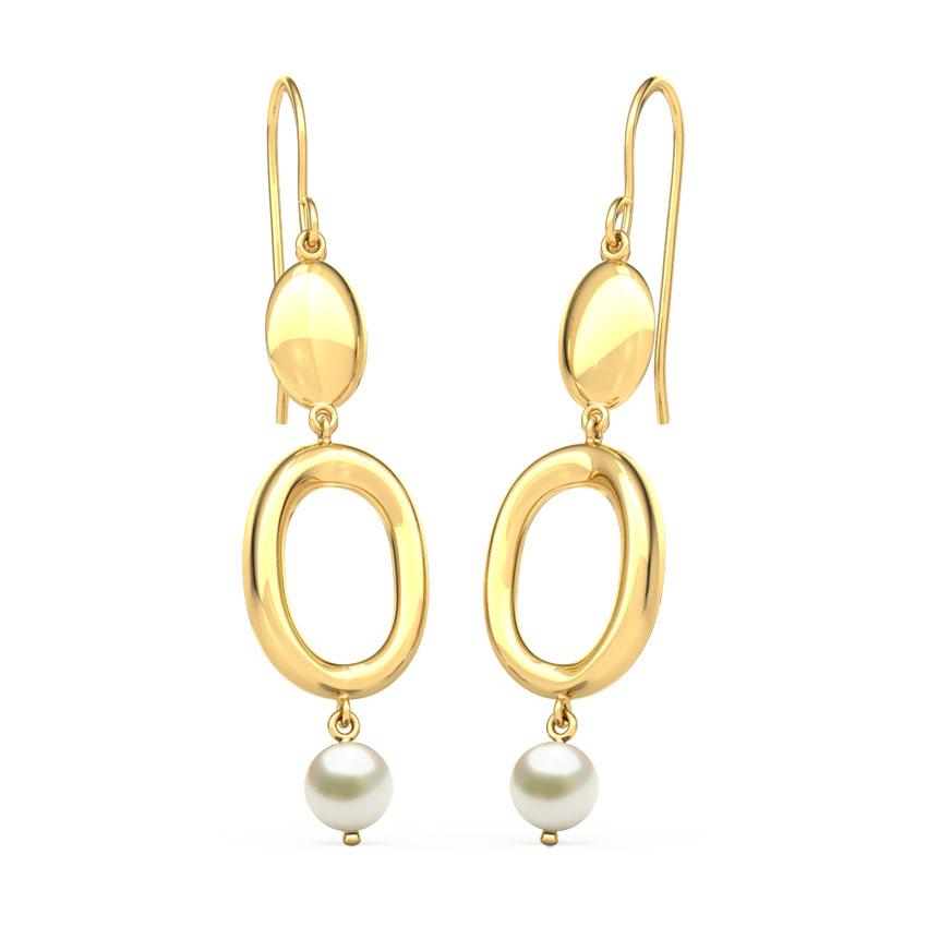 Stuti Circlet Drop Earrings