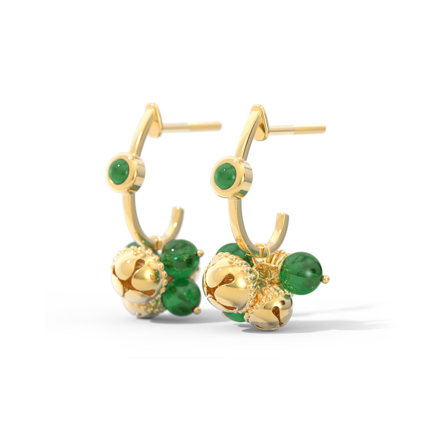 Protima Gold Drop Earrings