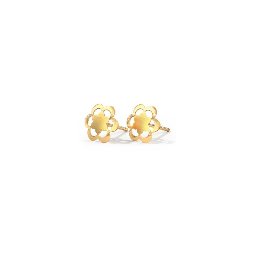 Blossom Cutout Stud Earrings