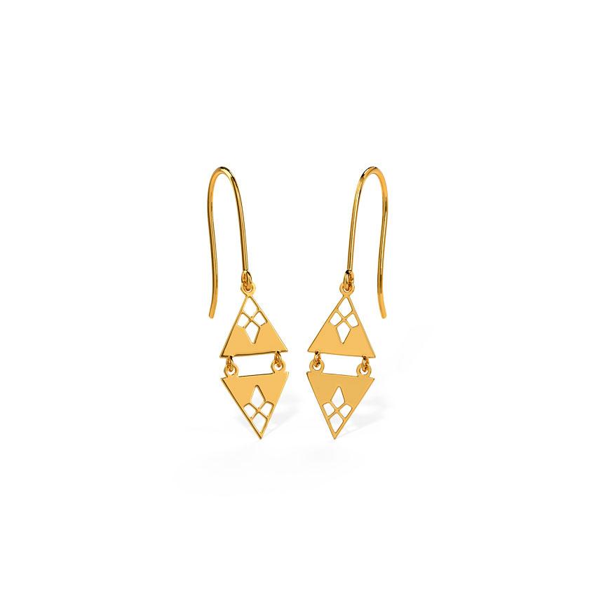 Bella Cutout Drop Earrings