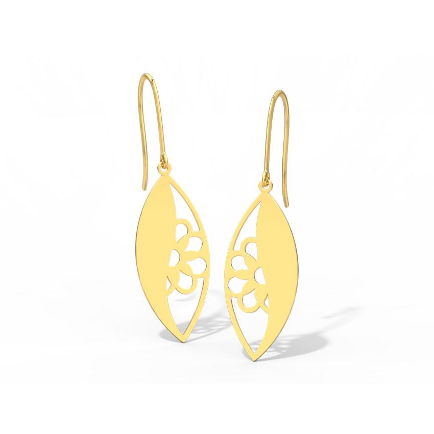 Deena Cutout Drop Earrings