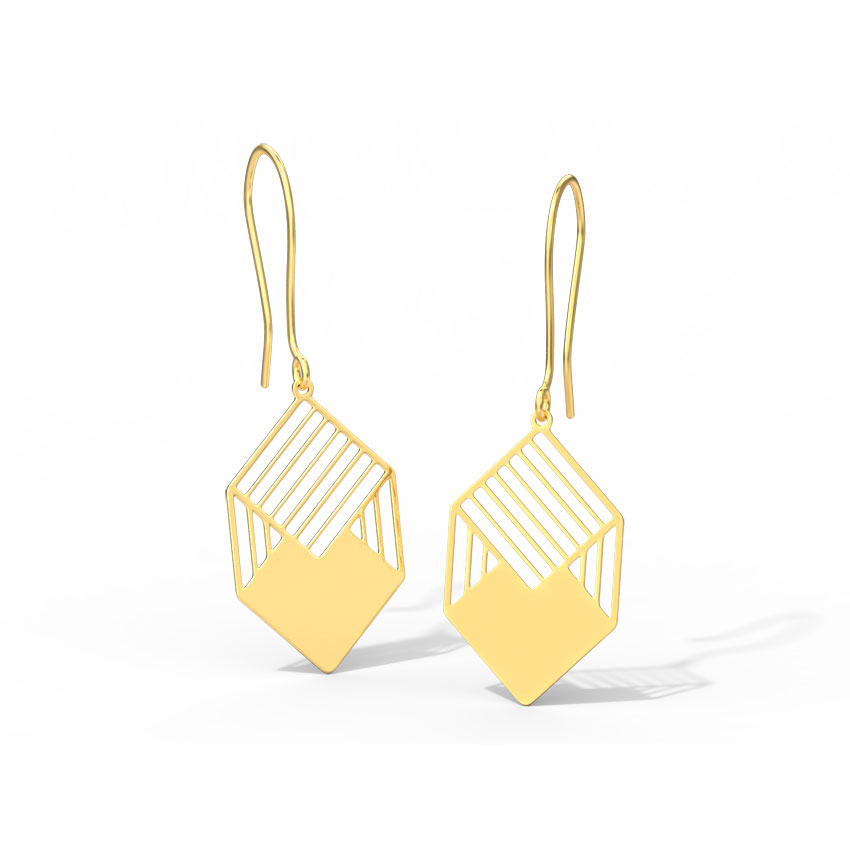 Kia Cutout Drop Earrings