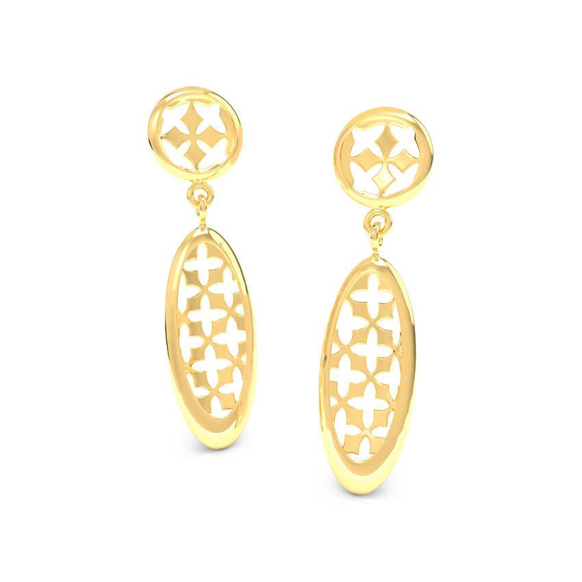 Emma Cutout Drop Earrings