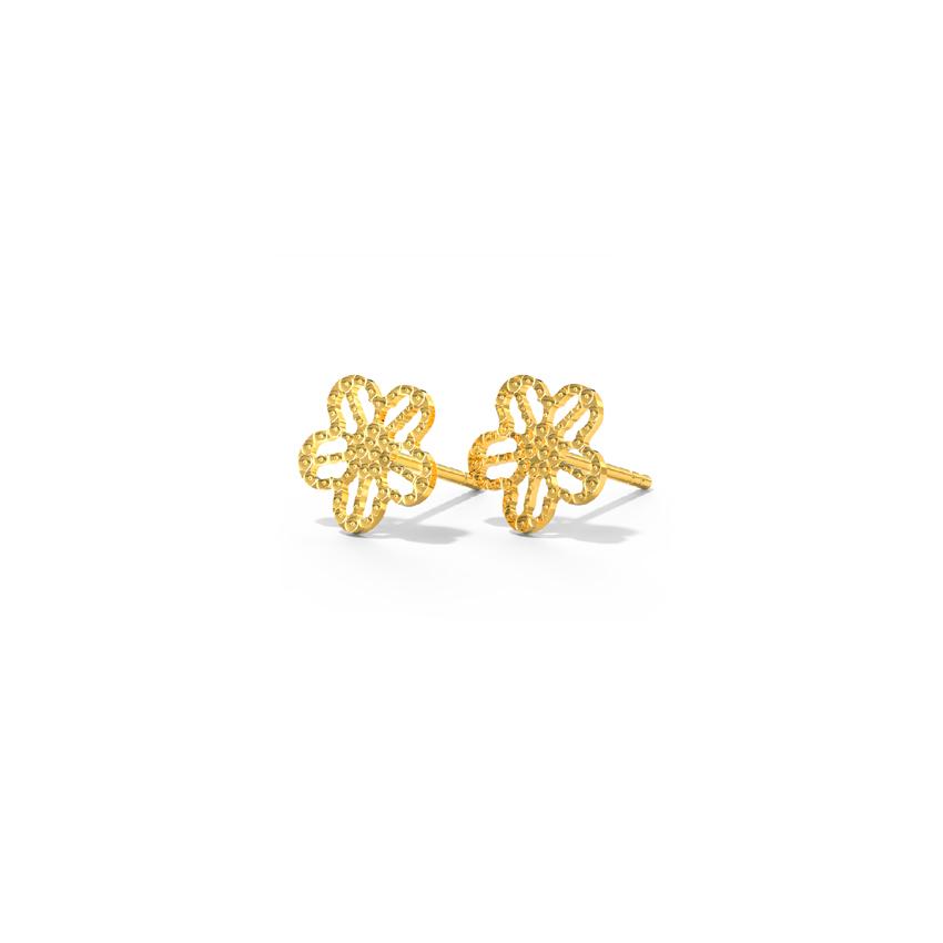 Jazzy Blossom Stud Earrings