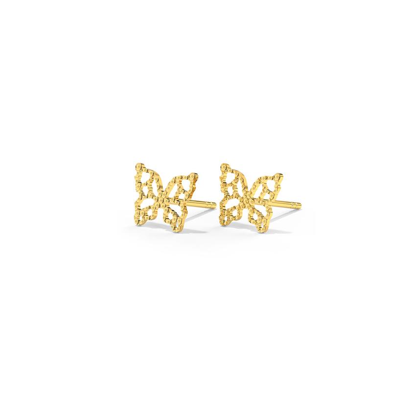 Winsome Butterfly Stud Earrings