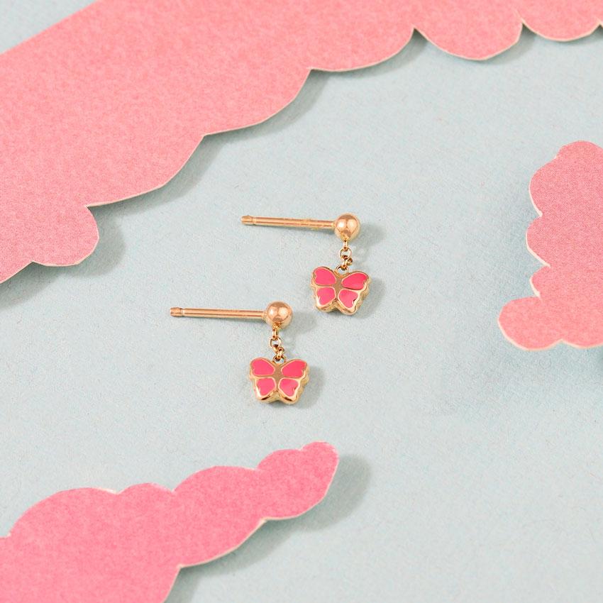 Butterfly Flutter Kids' Earrings