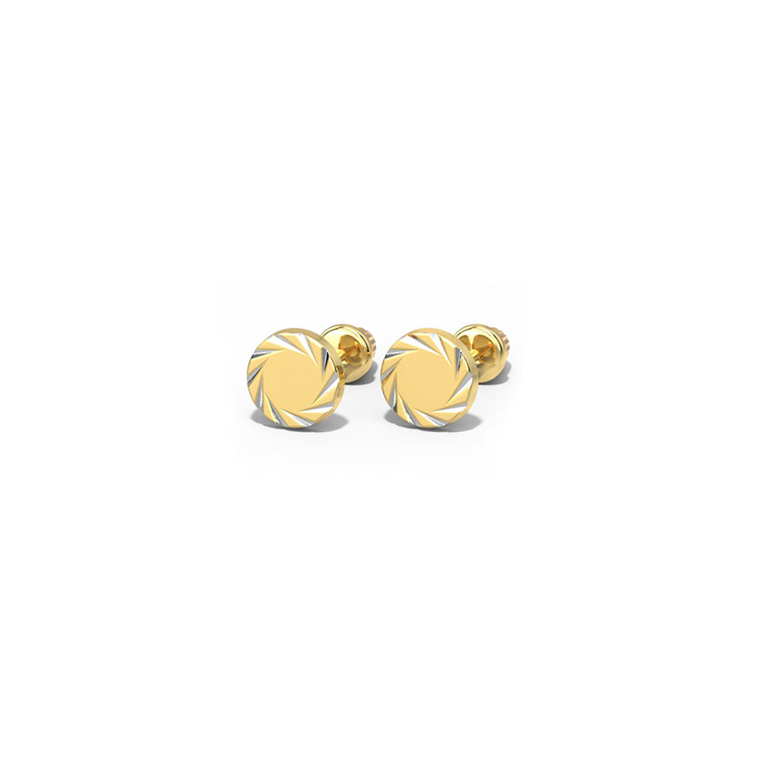 Encircle Swirl Kids' Earrings