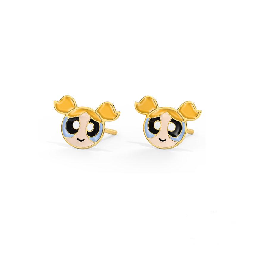 Cutesy Bubbles Kids' Earrings