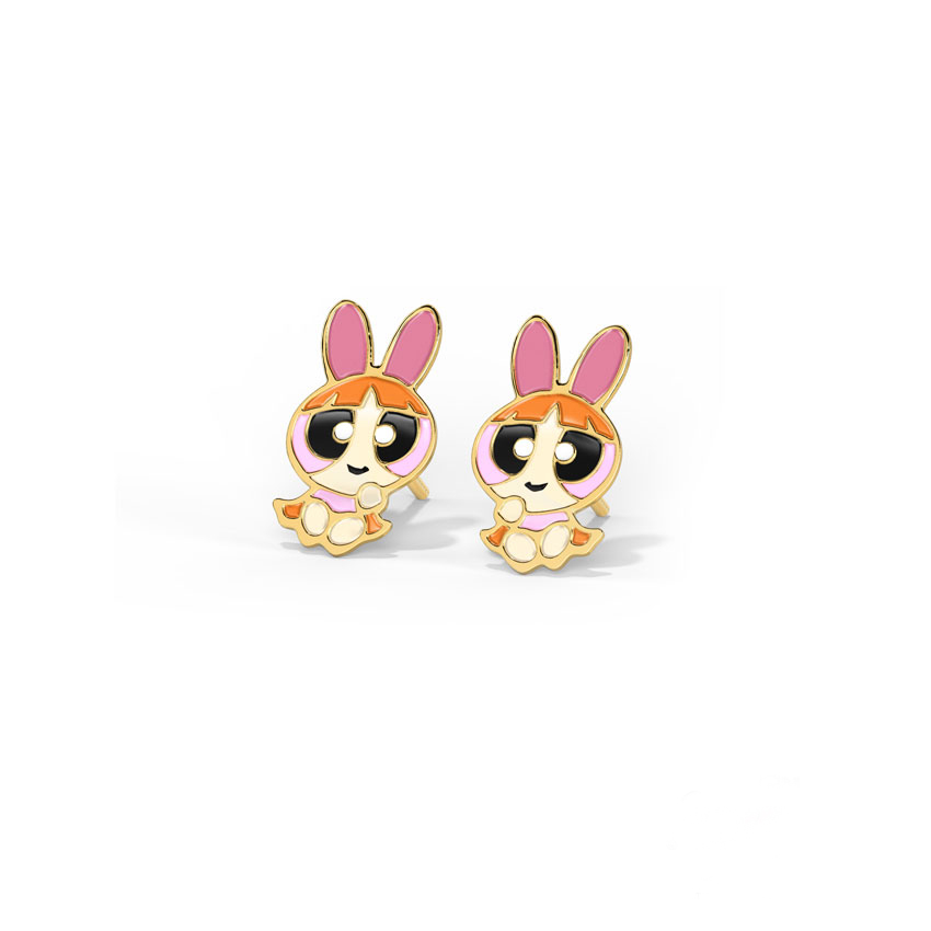 Vivid Blossom Kids' Earrings